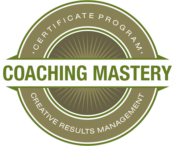 Coaching Mastery Creative Results Logo